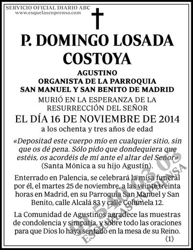 Domingo Losada Costoya